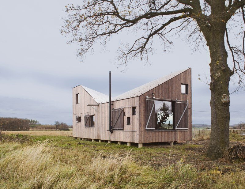 Low-energy wooden house Zilvar - ASGK Design (5)