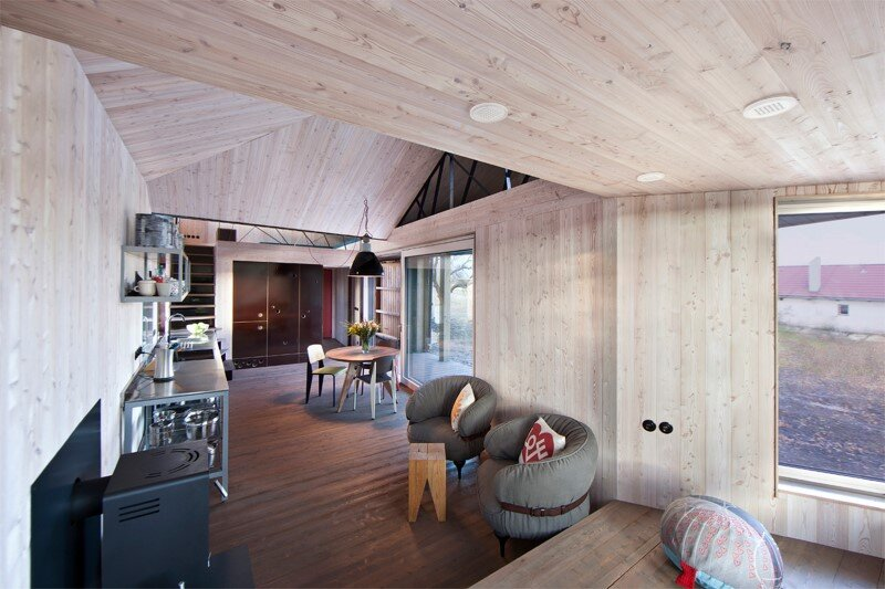 Low-energy wooden house Zilvar - ASGK Design (7)