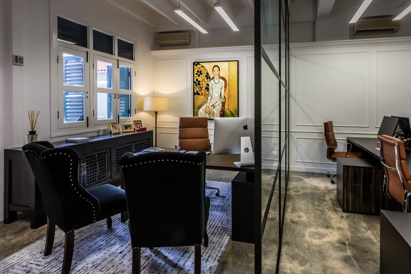 Luxury Hedge Fund Office Space In Singapore By Elliot James