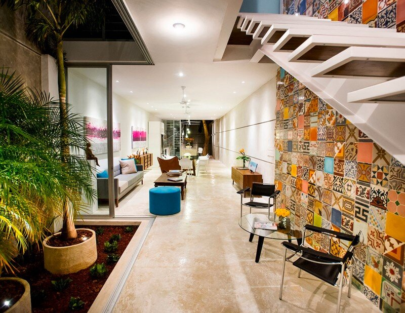 Merida House combines traditional Mexican elements with contemporary ...