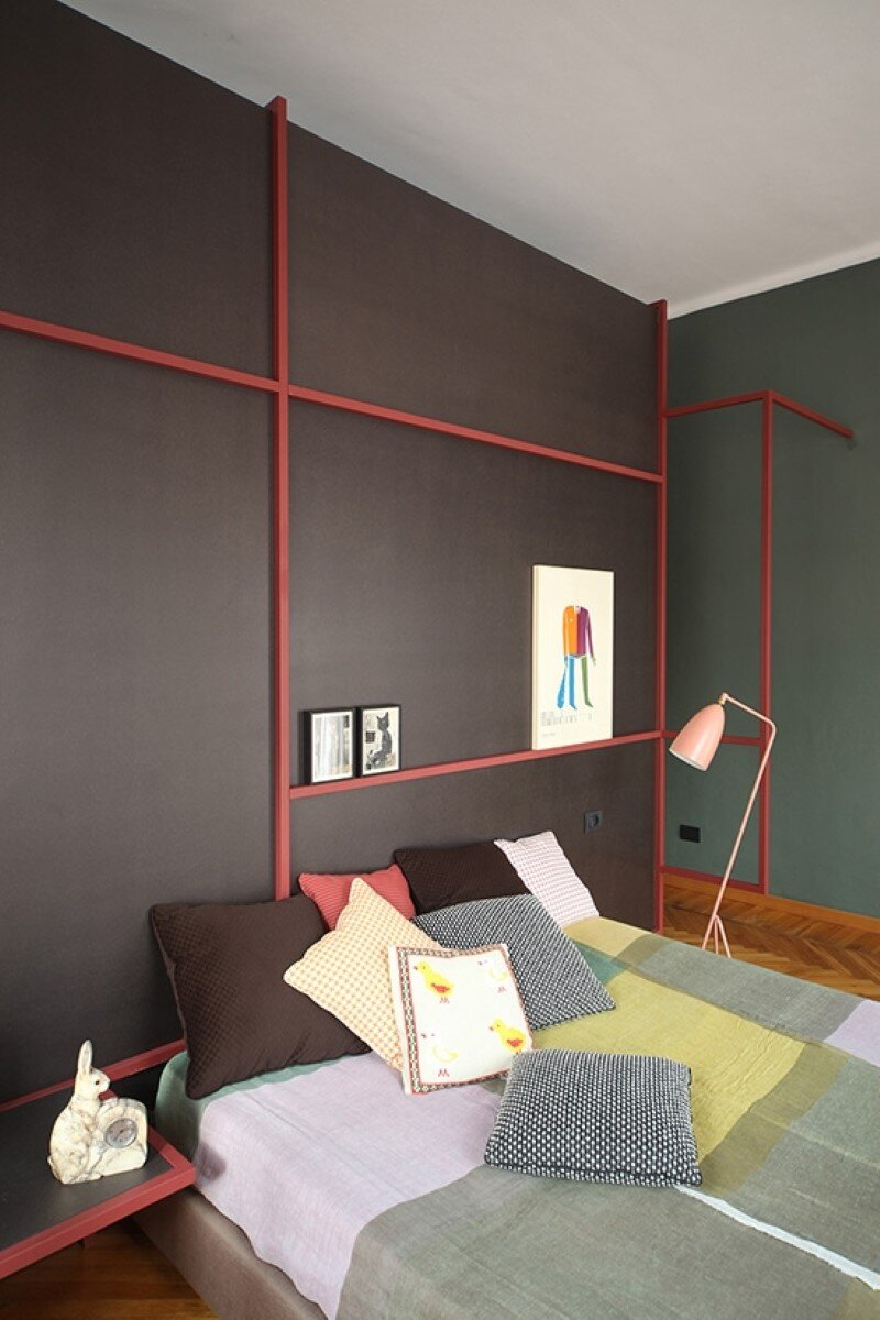 Metaphysical remix - renovation of apartment in Turin (10)