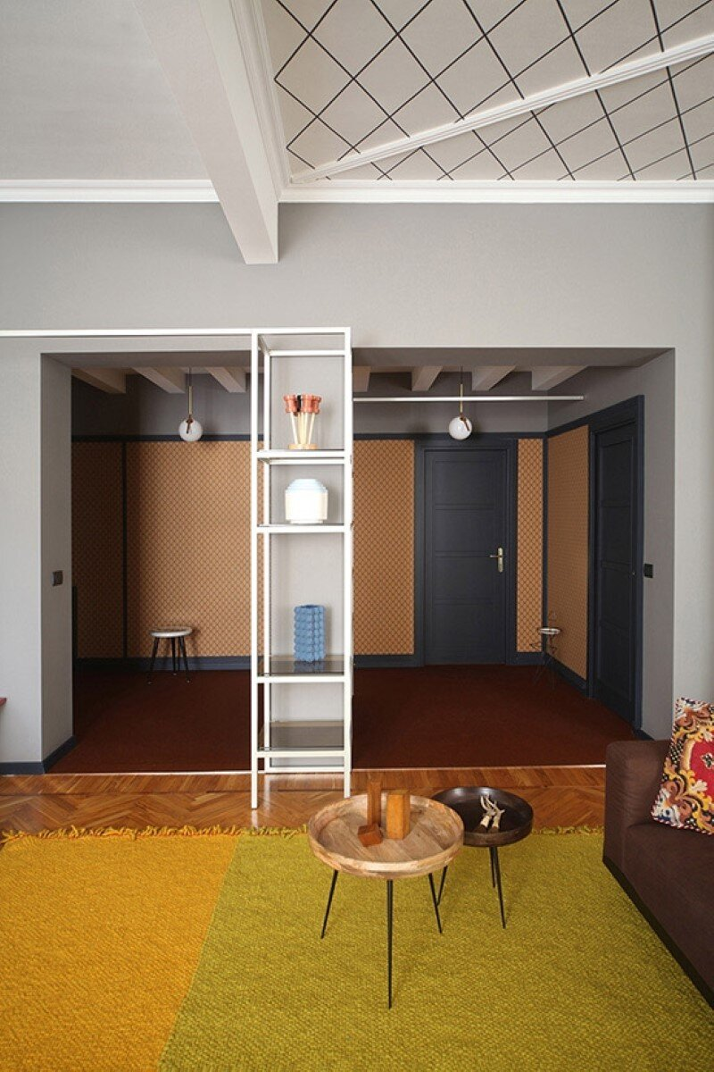 Metaphysical remix - renovation of apartment in Turin (5)
