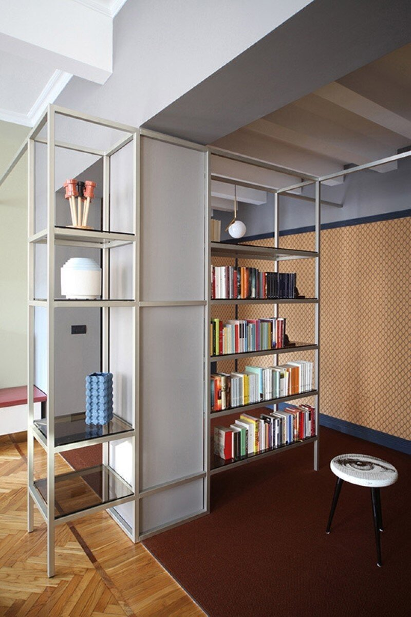 Metaphysical remix - renovation of apartment in Turin (6)