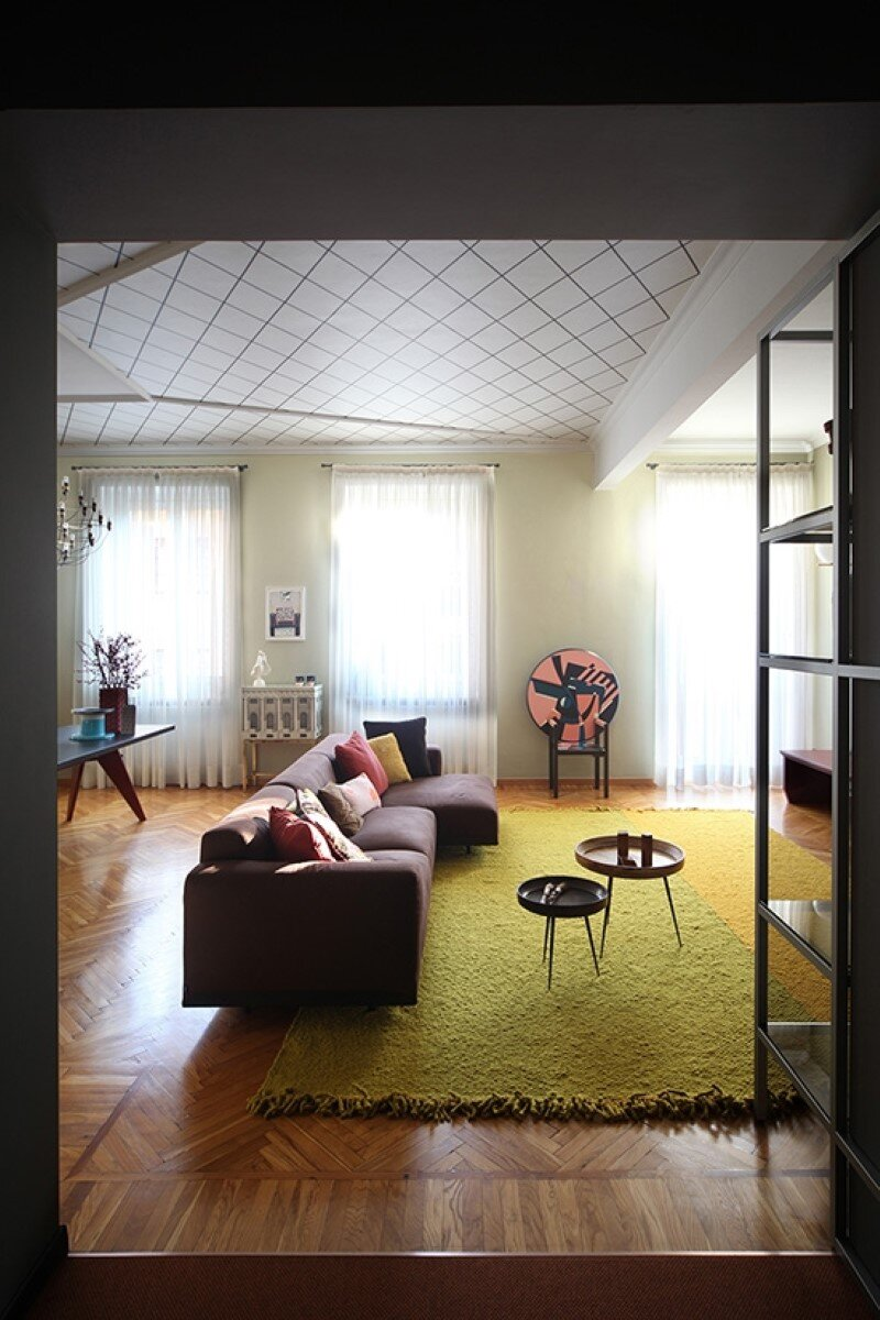 Metaphysical remix - renovation of apartment in Turin (7)