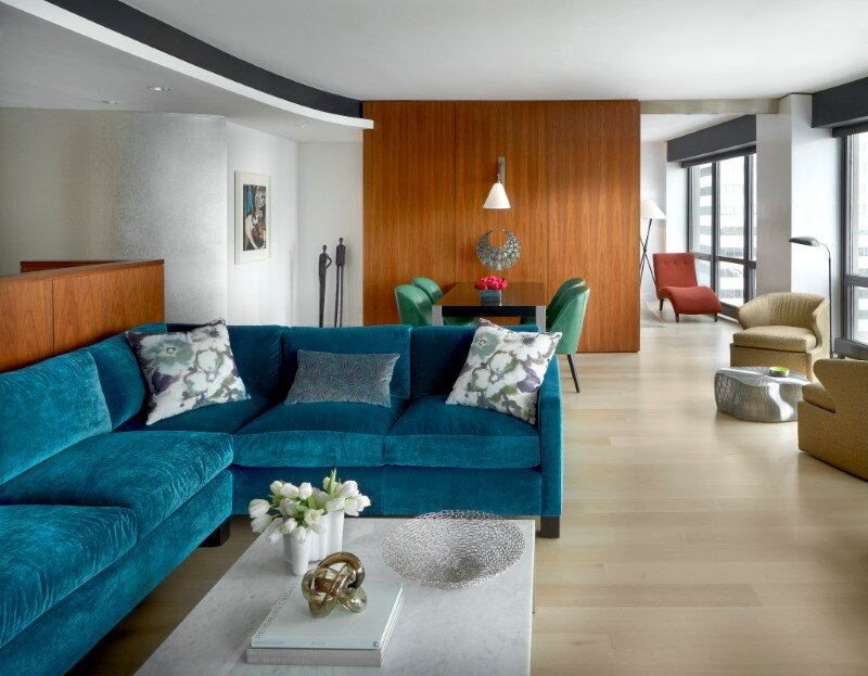 Millennium Park apartment by Mitchell Channon Design (1)