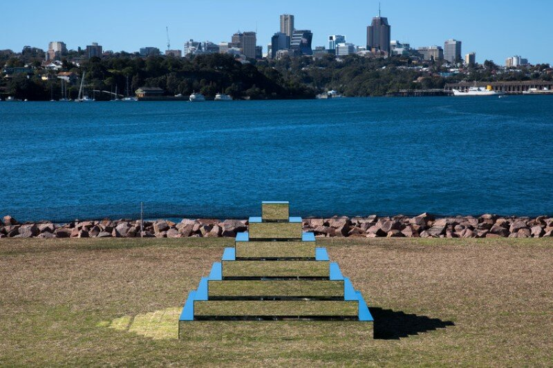 Mirrored Ziggurat for Underbelly Arts Festival Sydney