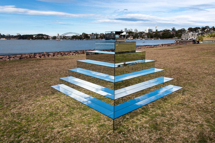 Mirrored Ziggurat for Underbelly Arts Festival Sydney - by artist Shirin Abedinirad 2