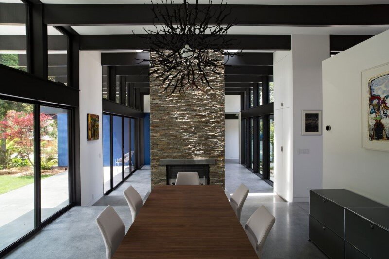 Modern Atrium House - energy efficient new home by Klopf Architecture (6)