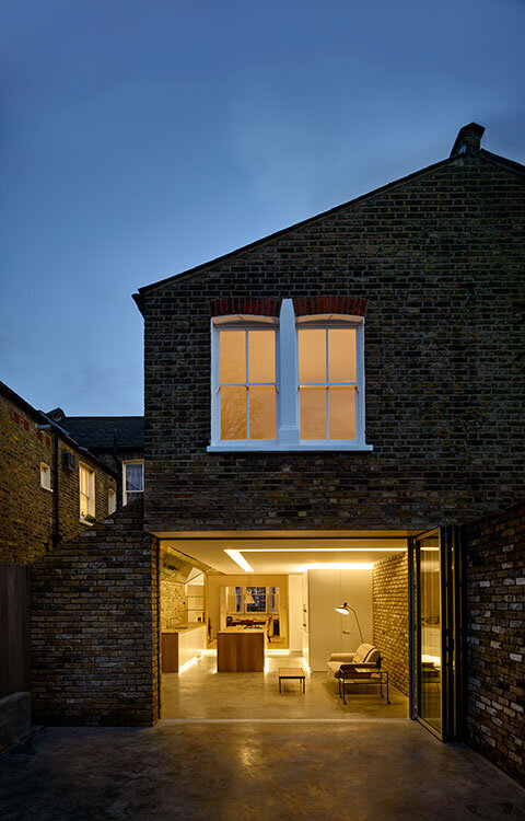 Modern Side Home Extension - modernization of a Victorian houses in Queens Park ,London (1)