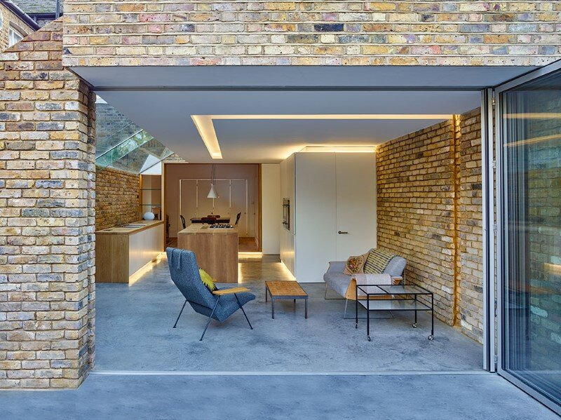 Modern Side Extension - modernization of a Victorian houses in London (6)