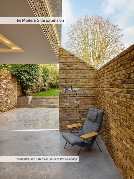 Modern Side Extension - modernization of a Victorian houses in London (9)
