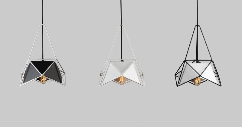 Modern lightings made entirely of metal - U32 by Shift Studio (3)
