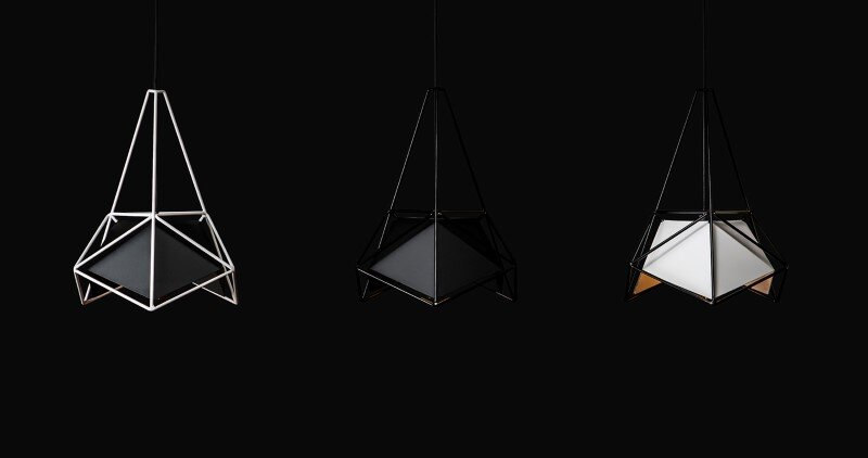 Modern lightings made entirely of metal - U32 by Shift Studio (4)