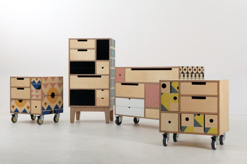 Modular storage concept – Play Play Pattern