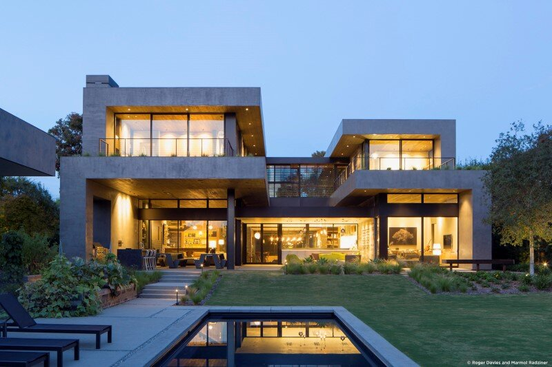 Moreno Residence by Marmol Radziner, Los Angeles (6)