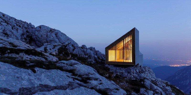 Mountain shelter on the highest peak in Slovenia 18