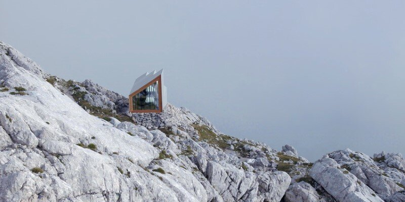 Mountain shelter on the highest peak in Slovenia (5)