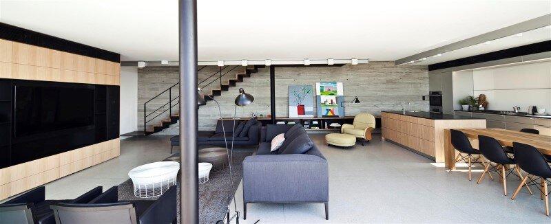 Renovation of a duplex apartment in Tel Aviv (2)