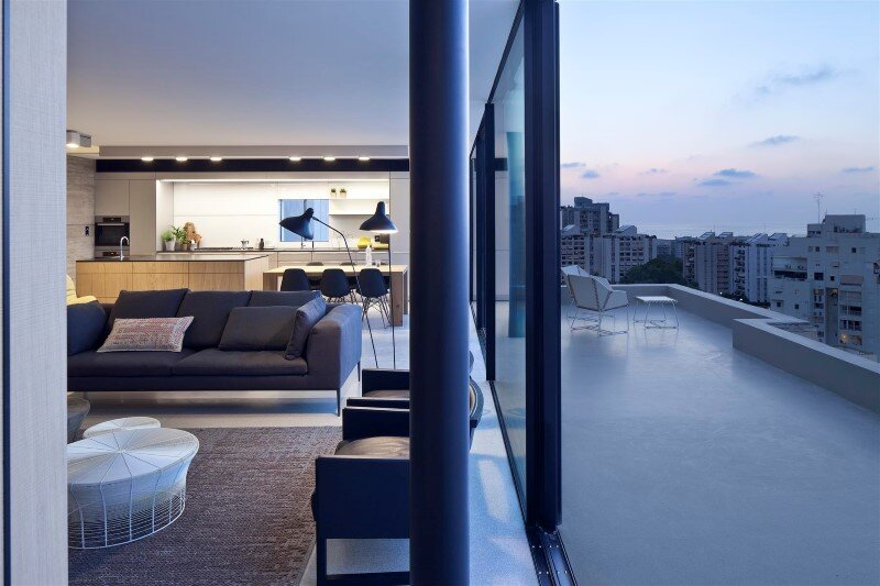 Renovation of a duplex apartment in Tel Aviv (20)