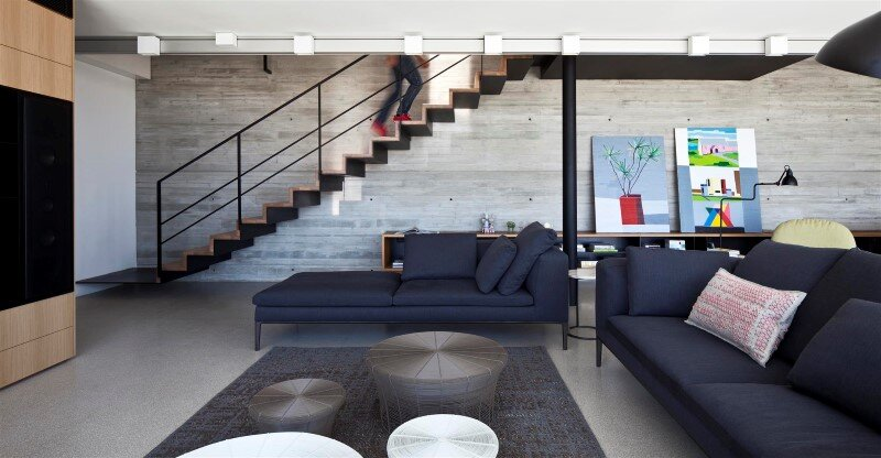 Renovation of a duplex apartment in Tel Aviv (4)