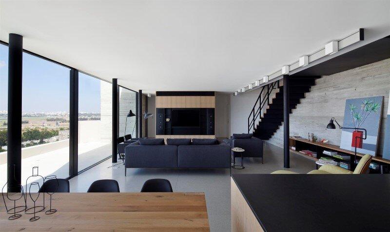 Renovation of a duplex apartment in Tel Aviv (5)