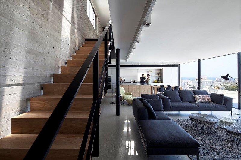 Renovation of a duplex apartment in Tel Aviv (7)