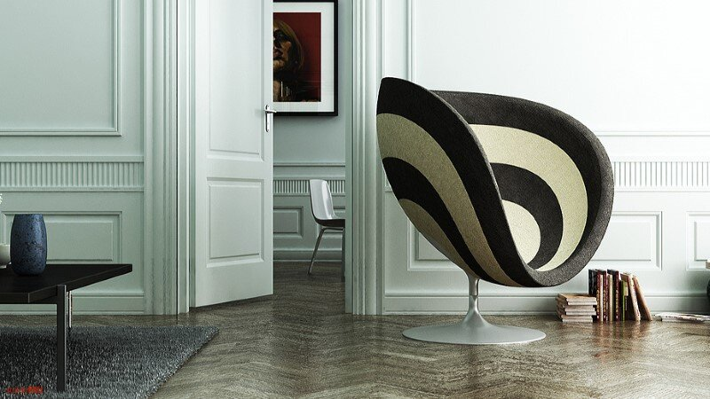 Rosa Chair is designed by Studio KMJ and is inspired by the rose flowers (6)