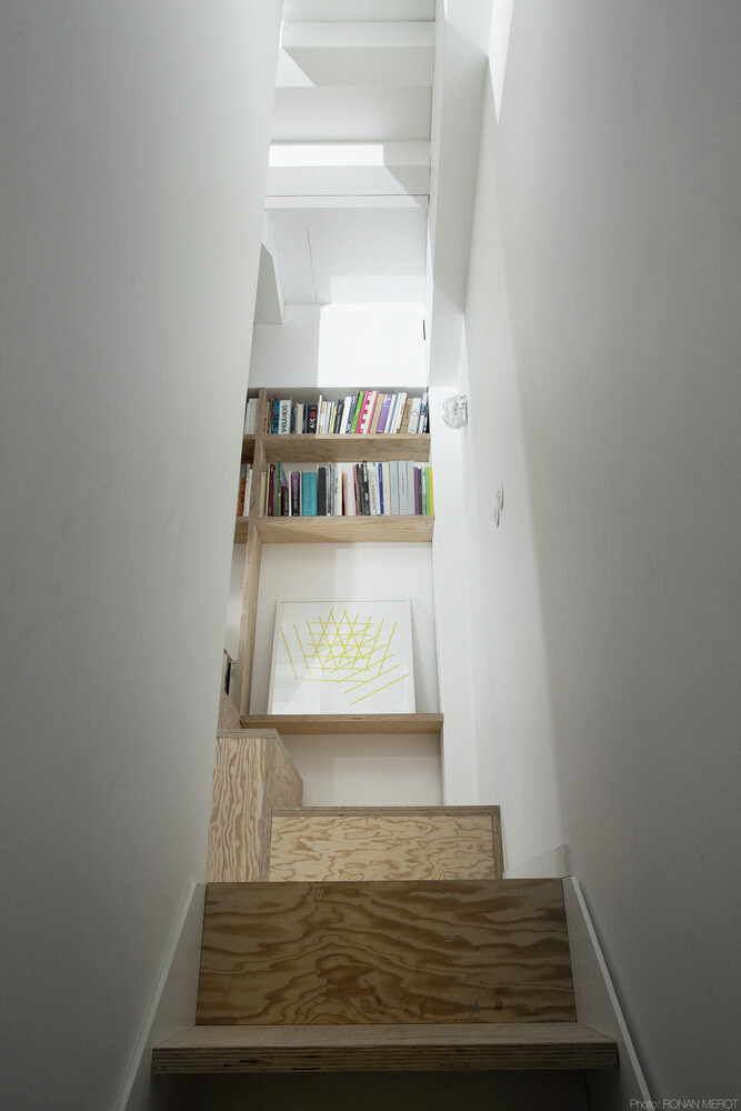 Small Parisian house with a singular geometry - Saganaki House (3)