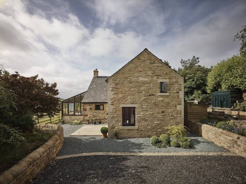 Stone cottage Hocker Farm - extension and modernization of a traditional British cottage (4)