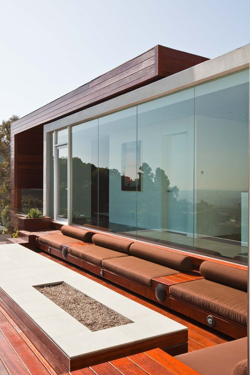 Sunset Plaza House modernist forms with dramatic views over Los Angeles (10)