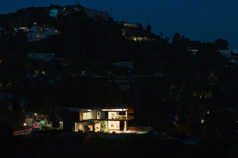 Sunset Plaza House modernist forms with dramatic views over Los Angeles (7)