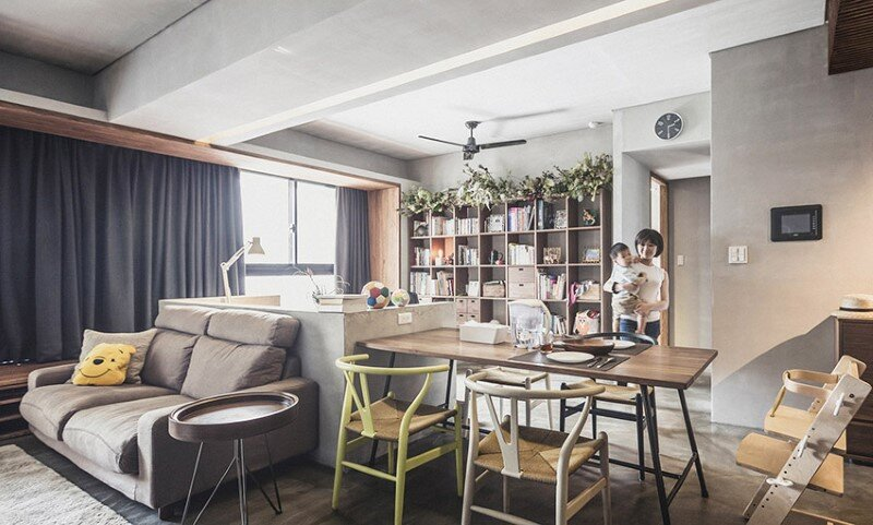 Taipei apartment by 323 interior (4)