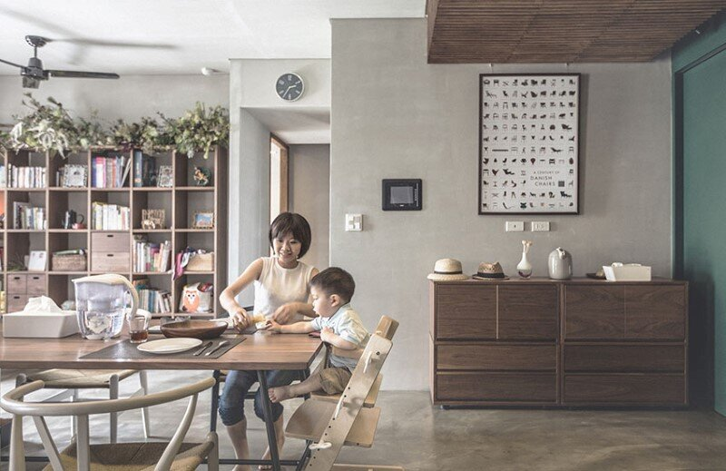 Taipei apartment by 323 interior (5)