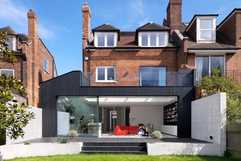 Talbot Road House by Lipton Plant Architects - This family home is located in London (1)