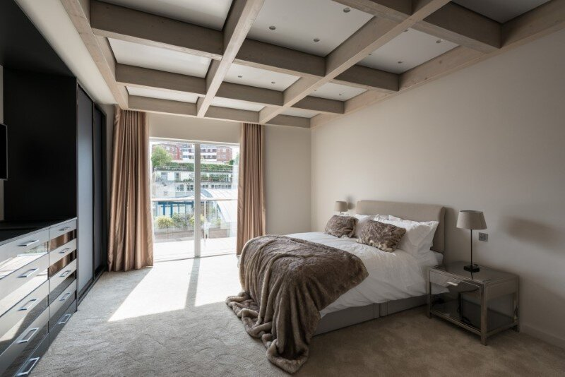 Two-bedroom London penthouse constructed on a Cross-Laminated Timber frame (12)
