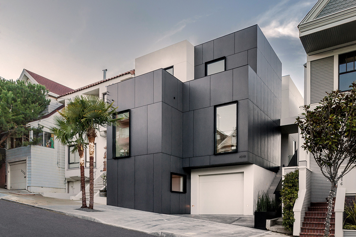 3 story house by edmonds lee architects for 3 story house