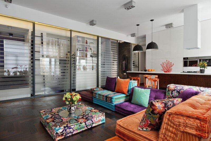 50 sqm Secret apartment in Kiev - Sergey Makhno Architects (1)