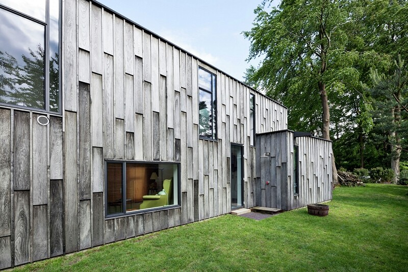Architectural facade which offers an attractive look Forest House (6)