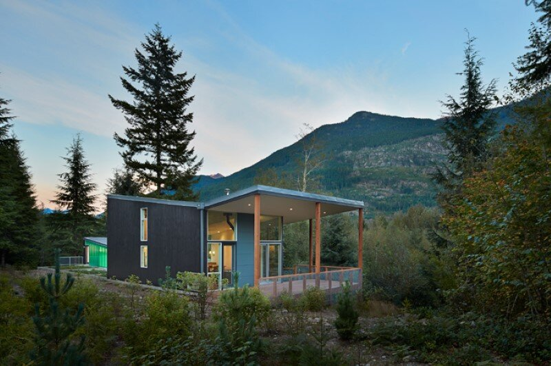 Bear Run Cabin by David Coleman Architecture (11)