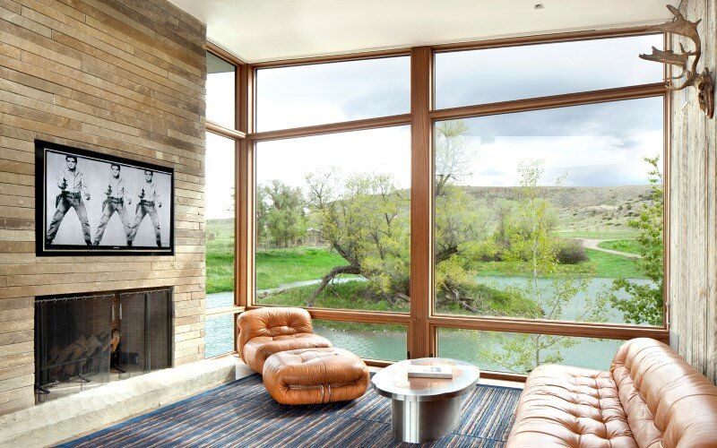 Big Timber Riverside House - Montana ranch by Hughesumbanhowar Architects (7)
