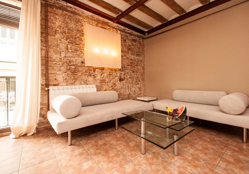Borne apartments - modern décor combined with original wooden beams (2)