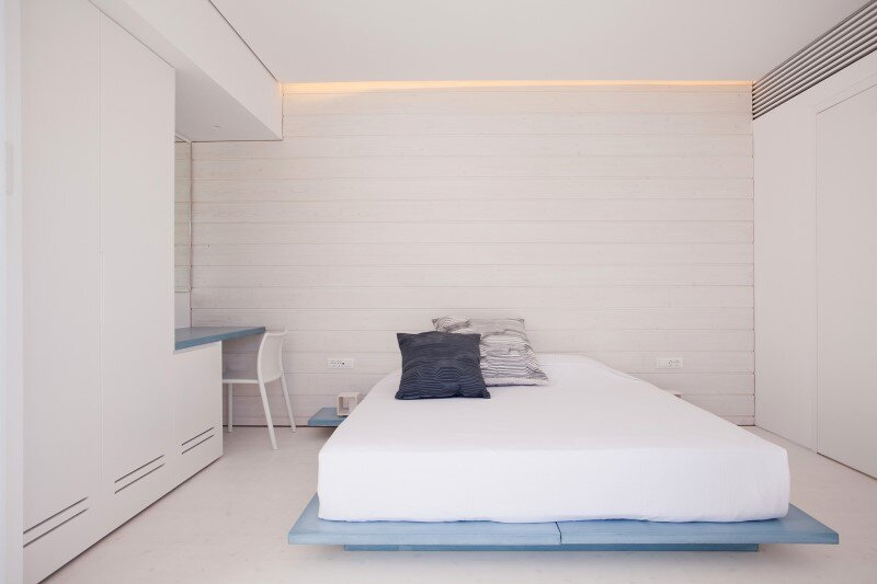 Boutique hotel with a stylish minimalist design relux ios for Minimalist hotel
