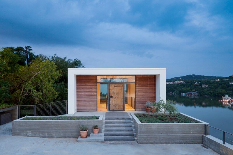 Cliff Dwelling - a residential renovation with a cliff-side view over Lake Austin (2)