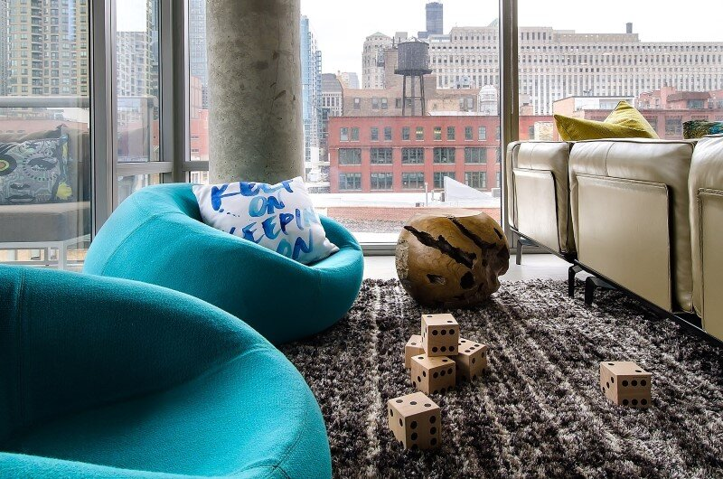 Concrete Jungle Apartment in River North Chicago by Project Interiors (8)