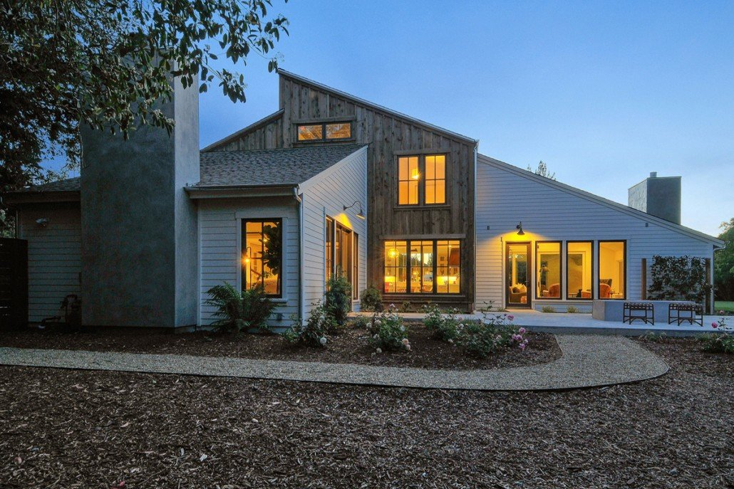 Cordilleras house modern farmhouse in sonoma california for Modern farmhouse architecture plans