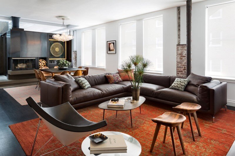 Duplex Barrow Street by Deborah Berke Partners - Eclectic Interior Design, New York (4)