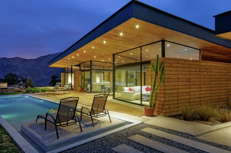 Each room of this house communicate with a terrace: Casa San Esteban
