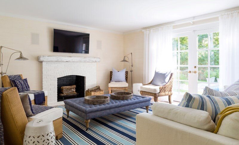 East Hampton Beach Cottage - homely home transformed into a buoyant and sparkling oasis (5)