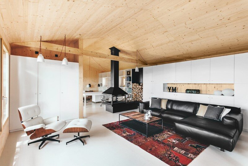 Efficient, prefab, sustainable and passive - Wood Studio House (10)