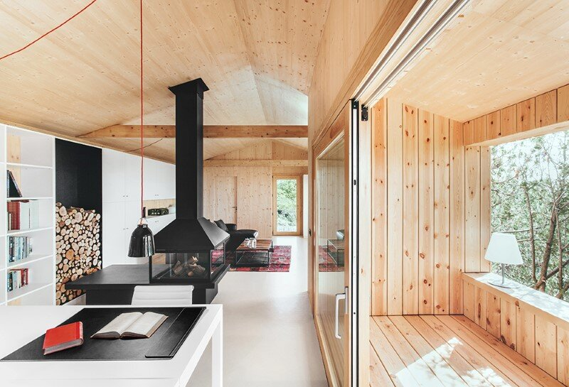 Efficient, prefab, sustainable and passive - Wood Studio House (4)